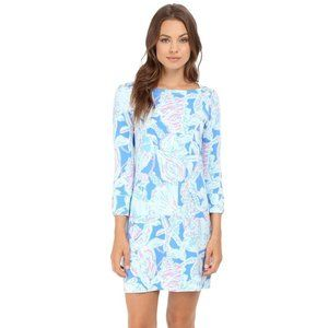 LILLY PULITZER Sophie Dress Into The Blue {OO49}